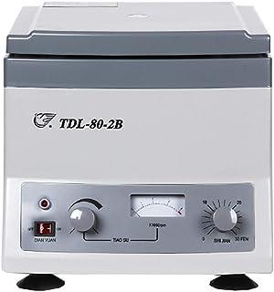 Electric Centrifuge, Desktop Low Speed Centrifuge, Experimental Tube Separator, 4000Rpm / Min Adjustable Speed, 0-30Min Ti...