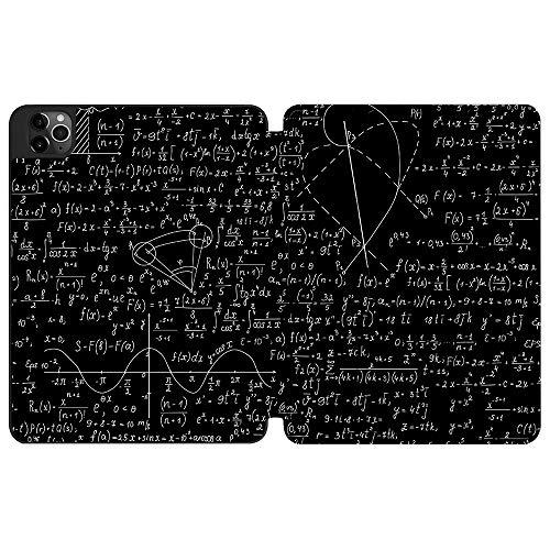 SDH Funda para iPad Pro 12.9 pulgadas 4ª generación 2020 lanzamiento,titular y carga inalámbrica, suave TPU trasero Shell soporte Smart Cover Tablet Sleeve 2 en 1 paquete, Blackboard Book 11