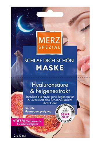 Merz Spezial Schlaf Dich schön Maske Hyaluronsäure & Feigenextrakt, 15er Pack (15 x 10 ml)