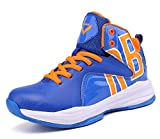 JMFCHI Kid's Basketball Shoes High-top Sports Shoes Sneakers Durable Lace-up Non-Slip Running Shoes...