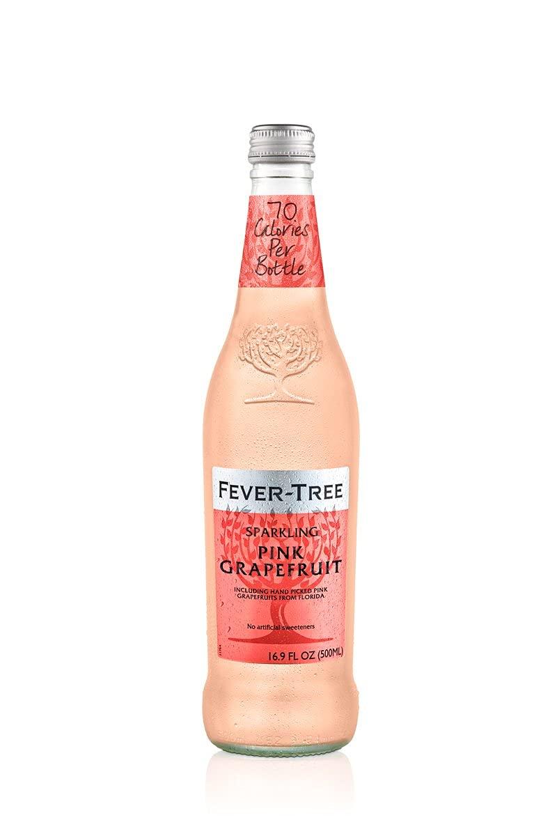 Fever-Tree Sparkling Grapefruit, No Artificial Sweeteners, Flavorings or Preservatives, 16.9 Fl Oz Each (8 Bottles)