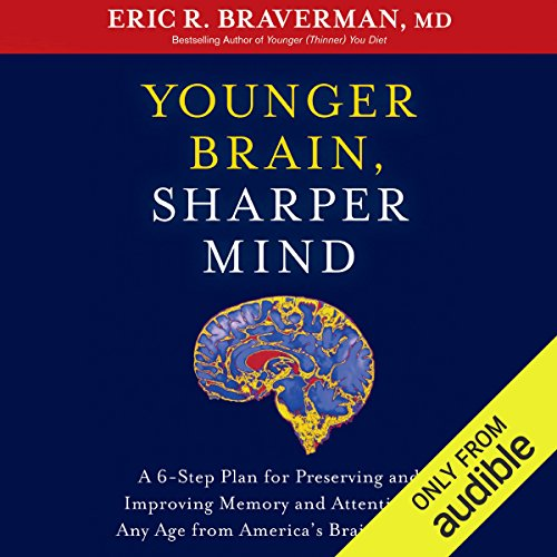 Younger Brain, Sharper Mind audiobook cover art