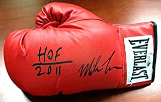 "Mike Tyson Autographed Everlast Boxing Glove ""HOF 2011"" LH TriStar"