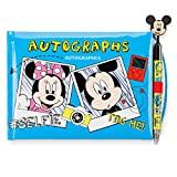 Disney Parks Walt Disney World Exclusive Official Character Autograph Book with Pen! Mickey Mouse