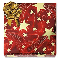 shiny christmas foil wrapping paper make your gifts stand out - Christmas Wrap