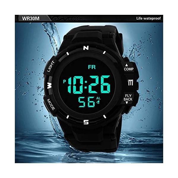 Casio watches Sport Watch, 50M Waterproof Watch, Sport Wrist Watch for Men Women Kids, Digital