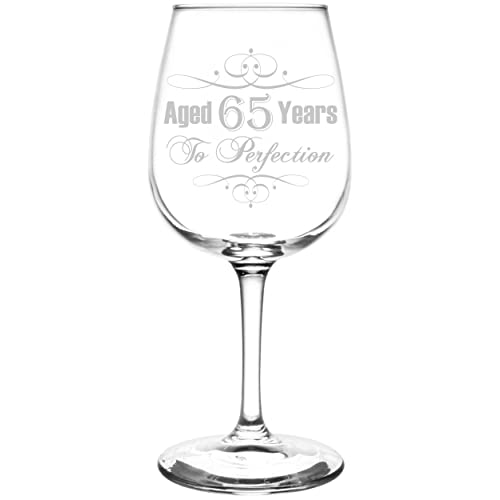 65th Aged To Perfection Elegant Vintage Birthday Celebration Inspired