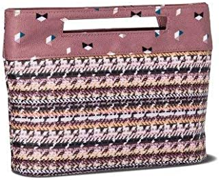 Sonia Kashuk - Cosmetic Bag Modern Pouch Broken Houndstooth MULTI-COLORED