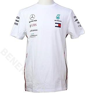 Mercedes-AMG Petronas Motorsport Collection 2019 F1/™ pour Enfant T-Shirt d/équipe Blanc
