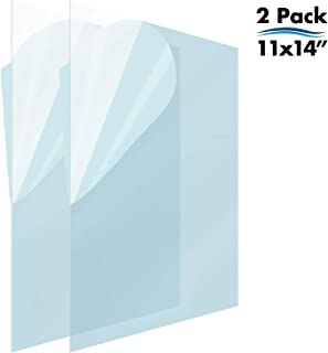 Icona Bay PET Replacement for Picture Frame Glass (11 x 14, 2 Pack) PET is Ideal Replacement Glass Material, Avoid Glass Shattering, Your Superior Replacement Picture Frame Glass Has Arrived