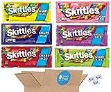 Skittles Variety Snack Peak Gift Box – Brightside, Darkside, Smoothies, Wild Berry, Original, Sours