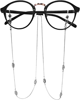 LUFF Anti-Skid Reading Glasses chain Glasses Strap retro metal chain sunglasses glasses holder