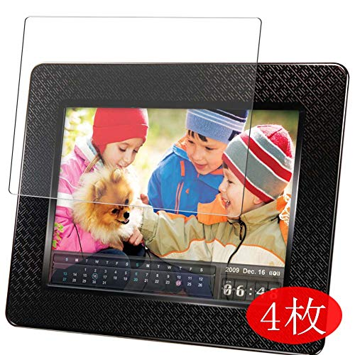 【4 Pack】 Synvy Screen Protector for Transcend Digital Photo Frame 7