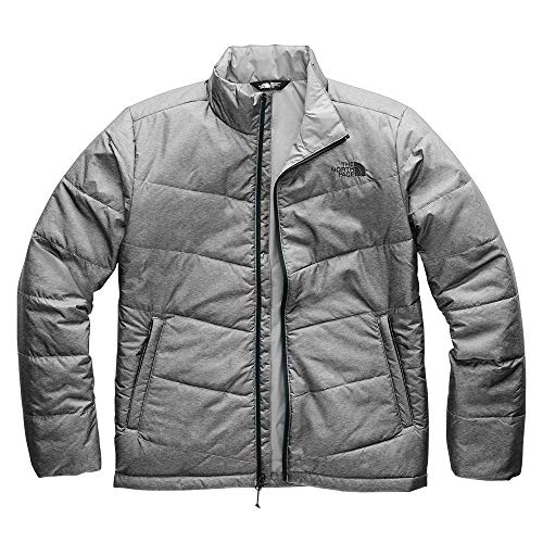 The North Face Men's Junction Insulated Jacket, TNF Medium Grey Heather, Medium