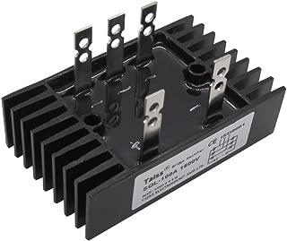 Taiss/SQL 100A Amp 1600V Heatsink Shape 3 Phase Diode Metal Case Bridge Rectifier (Warranty 1 Years) SQL100A