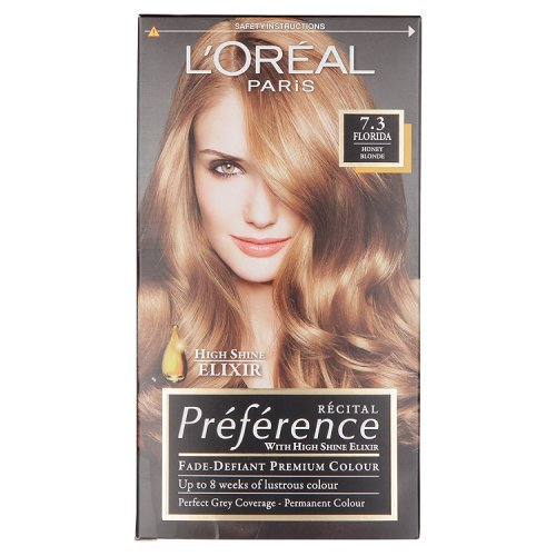 L'Oreal Preference 7.3 Florida Honey Blonde Haarfarbe
