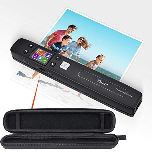 "Buy Bargain MUNBYN Portable Scanner and 10.5"" x 1.6"" x 1.2"" Hard Travel Case. Easiest Way to D..."