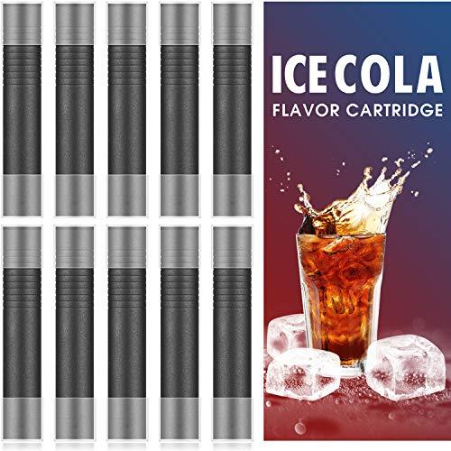 プルームテック互換カートリッジ(レモンソーダ味+マンゴーアイス味+ブルーベリー味808K+無臭無味) (プルームテック互換, コーラー味)