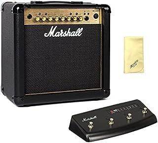 【愛曲クロス付】【フットスイッチ/PEDL90008付】Marshall マーシャル MG15FX Gold 正規輸入品