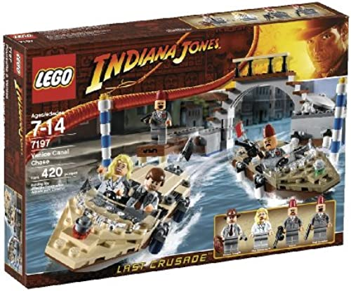 (Pursuit of Lego Indiana Jones Venice Canal) 7197 Venice Canal Chase (japan import)
