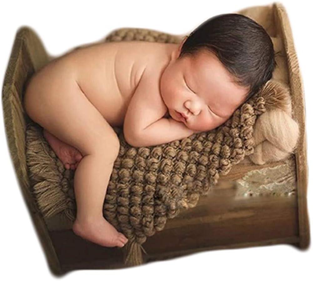 Baby Photography Props Basket Braid Photo quality assurance Newborn Wrap Wool Shoo Indefinitely
