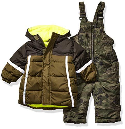 iXtreme Baby Boys Snowsuit, Olive, 12M