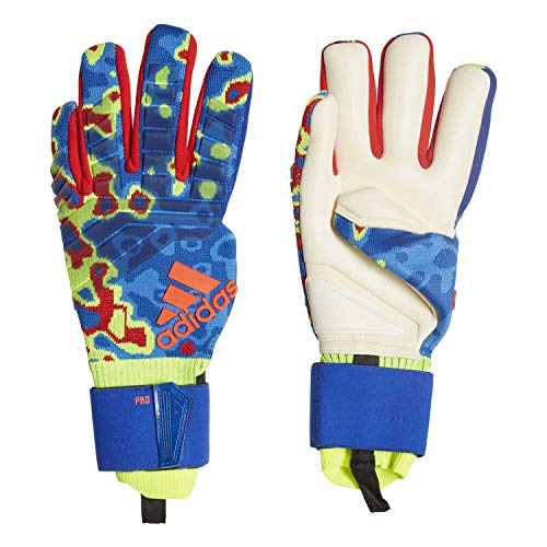 adidas Herren Torwarthandschuhe Predator PRO Manuel Neuer solar Yellow/Football Blue/Active red 12