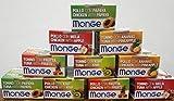 Monge Kit 50 Latte Fruits Gatto gr. 80 Vari Gusti tonno e Pollo con Frutta