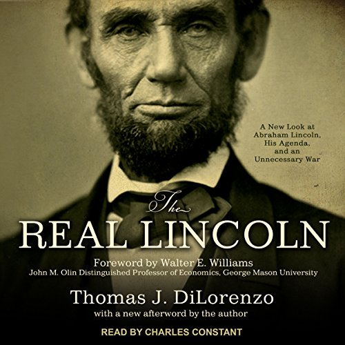 The Real Lincoln audiobook cover art