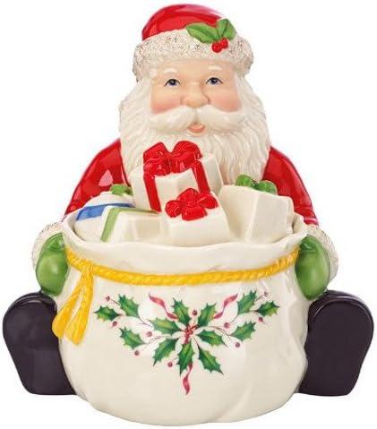 Max 87% OFF Lenox Santa Covered Jar Candy Boston Mall