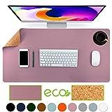 Ampia superficie di utilizzo: dimensioni di 80 x 40 cm, spessore 2 mm, abbastanza spesso per fornire un tocco morbido ed elastico; abbastanza grande per contenere il tuo laptop, mouse, tastiera e diario.