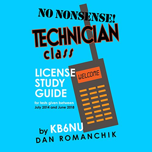 No-Nonsense Technician Class License Study Guide audiobook cover art
