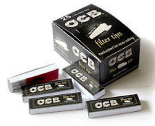 OCB perforierte Filterspitzen, 10 Briefchen