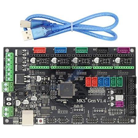 Invento MKS Gen V 1.4 3D Printer Controller Remix Board (RAMPS 1.4 + Mega 2560 Combine)