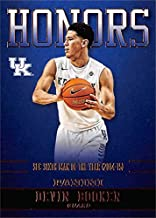 Devin Booker basketball card (Kentucky Wildcats, SEC Sixth Man of the Year) 2016 Panini Team Collection Honors #DB-UK