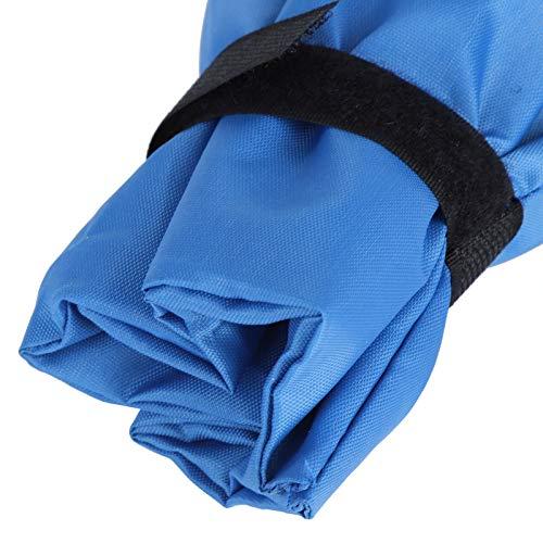 Cubierta de aislamiento para grifos Protección UV Protector anticongelante para grifos, para sistemas de riego, para sistemas de rociadores de césped, para sistemas de remanso(blue)
