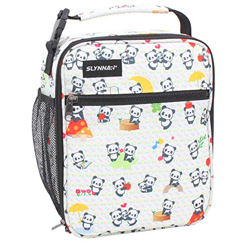 Slynnar Lunch bag Freezable Lunch Box, Panda