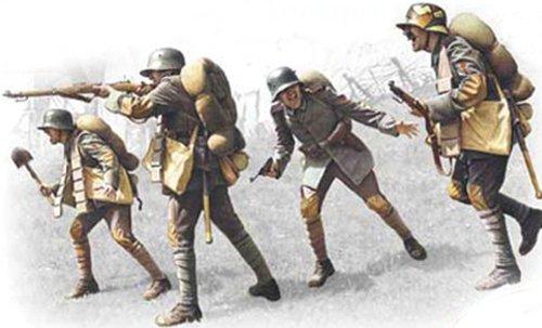 ICM modèles Allemand Assault Troupes 1917–1918 de Construction kit