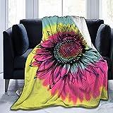N \ A Manta de franela para concienciación sobre el cáncer cervicouterino y mariposas, supersuave, hipoalergénica, felpa, sofá de cama, sala de estar