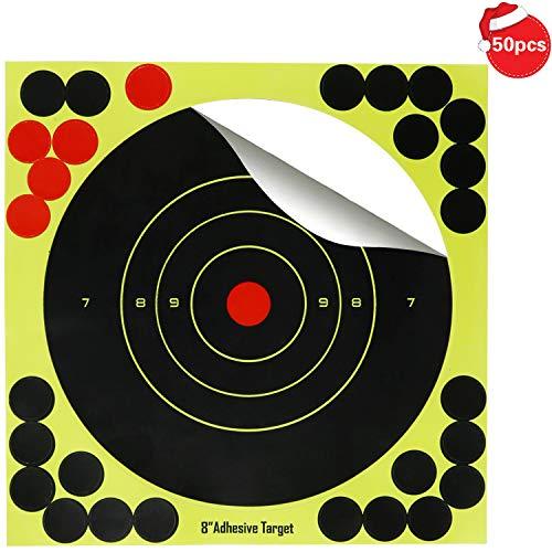 Disparos reactivos contra salpicaduras de 8 pulgadas, Práctica de caza con silueta Paster para armas BB, Airsoft, Pellet Gun