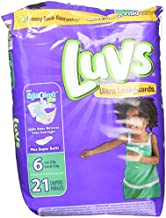 Luvs Ultra Leakguards, Stage 6 Disposable Diaper, 21 Ct