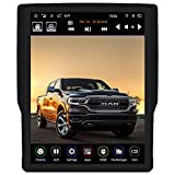 LINKSWELL GEN IV T-Style 12.1 Inch Radio Replacement for 2019 to 2021 RAM Trucks 1500/2500/3500/4500 Multimedia Android Auto Touch Screen Player Head Unit Car Stereo GPS Navigation TS-DGPU12-1RR-4A