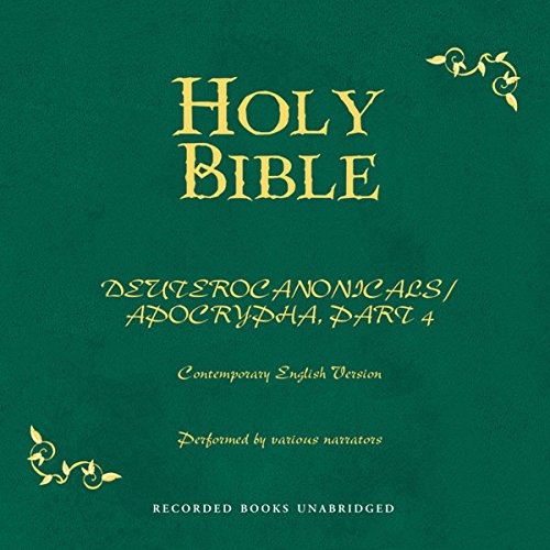 Holy Bible, Volume 21 audiobook cover art