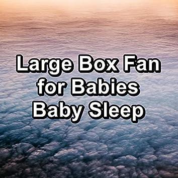 Large Box Fan for Babies Baby Sleep