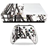 MightySkins Skin Compatible with Microsoft Xbox One S - Artic Camo | Protective, Durable, and Unique Vinyl Decal wrap Cover | Easy to Apply, Remove, and Change Styles | Made in The USA