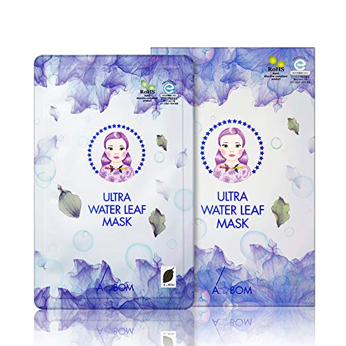 A. by BOM Ultra Water Leaf Mascarilla Facial de Tela Hidratante - 30 ml