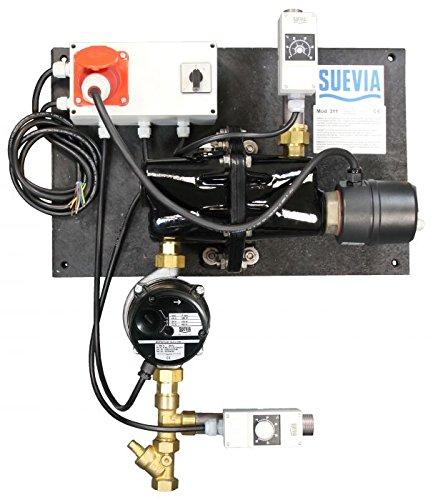 Suevia Heizgerät Modell 311 - 3000 Watt, 400 Volt - mit Rücklauftemperatur-Steuerung - 101.0311