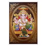 Bild Ganesha 33 x 48 cm Gottheit Hinduismus Kunstdruck
