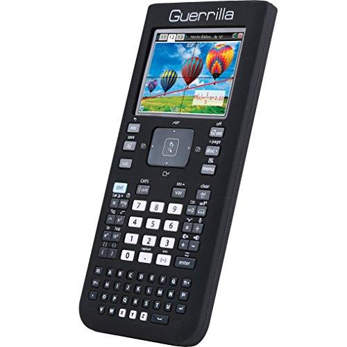 Guerrilla Silicone Case for Texas Instruments TI Nspire CX/CX CAS Graphing Calculator, Black