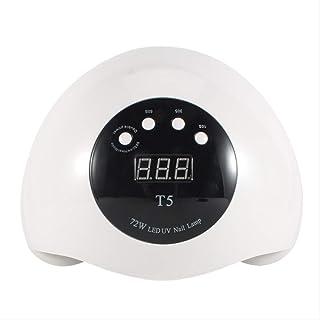 36 cuentas de lámpara 72W de alta potencia UV LED doble fuente de luz máquina de uñas
